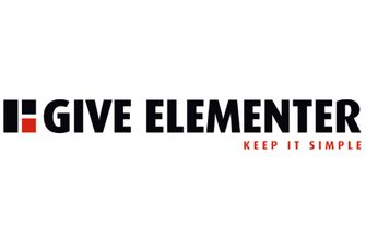 give elementer logo